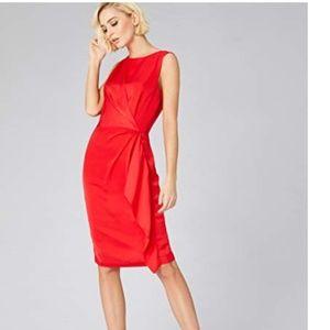 Standard Front Twist Tunic Dress